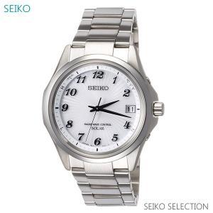 メンズ 腕時計 7年保証 送料無料 セイコー ソーラー 電波 SBTM237 正規品|mmco