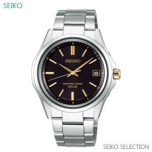 メンズ 腕時計 7年保証 送料無料 セイコー ソーラー 電波 SBTM243 正規品|mmco