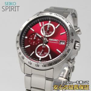【7年保証】  セイコー スピリット メンズ 腕時計 【SBTR001】 正規品 クロノグラフ|mmco