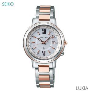 【7年保証】セイコールキア 女性用 ソーラー電波腕時計 品番:SSQV034 mmco