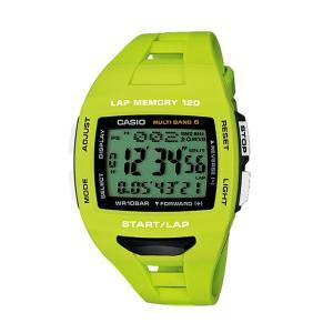 【7年保証】カシオ PHYS メンズ 男性用ソーラー電波腕時計 【STW-1000-3JF】(国内正規品)ソーラー電波時計のランナー用モデル|mmco