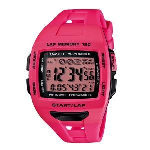 【7年保証】カシオ PHYS メンズ 男性用ソーラー電波腕時計 【STW-1000-4JF】(国内正規品)ソーラー電波時計のランナー用モデル|mmco
