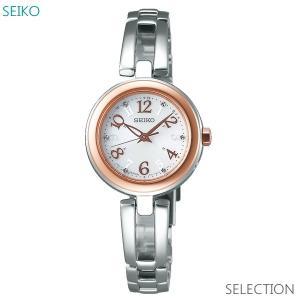 レディース 腕時計 7年保証 セイコー ティセ ソーラー電波 SWFH070 正規品 SEIKO TISSE|mmco