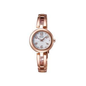 【7年保証】 ♪ セイコー ティセ レディース 電波ソーラー腕時計 【SWFH072】 (正規品) SEIKO TISSE|mmco
