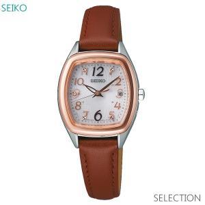 レディース 腕時計 7年保証 送料無料 セイコー セレクション ソーラー 電波 SWFH086 正規品|mmco