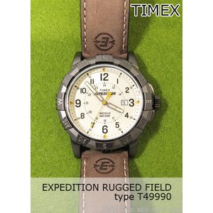 【7年保証】TIMEX(タイメックス) メンズ 男性用腕時計EXPEDITION RUGGED FIELD 【T49990】(国内正規品)|mmco