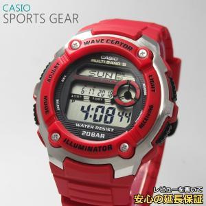 【7年保証】 CASIO SPORTS GEAR メンズ 電波 腕時計 【WV-M200-4AJF】(正規品) スポーツギア|mmco