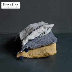 Lino e Lina ポーチ リネン デュオ  mminterior