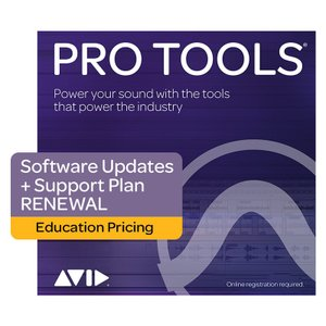 Avid/Annual Upgrade and Support Plan for Pro Tools - EDU (Renewal)【期間限定MAPキャンペーン】【オンライン納品】|mmo