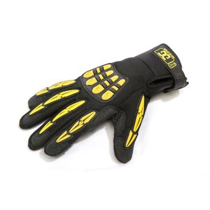 Gig Gear/ORIGINAL GIG GLOVES (Black/Yellow) X-Small|mmo