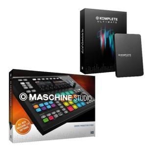 Native Instruments/Maschine Studio Black + KOMPLETE ULTIMATE 11|mmo