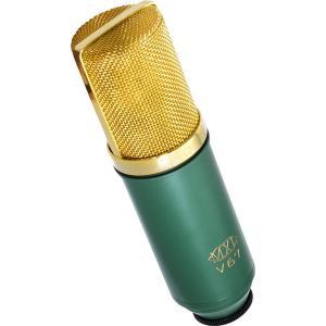 なめらかなオールド・スクール・チューブ・マイクロフォン。真空管のような温かみのあるサウンドが特徴です...