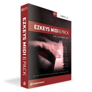 TOONTRACK/EZKEYS MIDI 6PACK