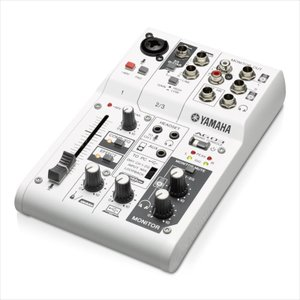 ウェブキャスティングに便利な機能を備えた音楽・音声用3チャンネルミキサーです。ループバックに対応した...