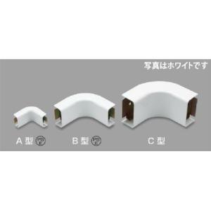 マサル工業 メタルモール付属品 インターナルエルボ A型 A104|mmq