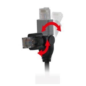 マスプロ CAT6(1Gbps) テレビ用 LANケーブル 2m CLM2-P mmq