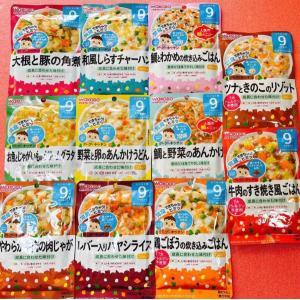 和光堂 離乳食9ヶ月から 11食セット 全て違う味 ベビーフード