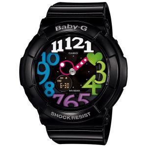 カシオ【Baby-G】ネオンダイアルシリーズ黒◆BGA-131-1B2DR/BGA-131-1B2JF|mmworld