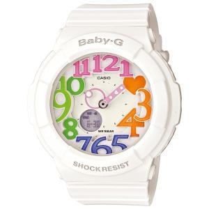 カシオ【Baby-G】ネオンダイアルシリーズ白◆BGA-131-7B3DR/BGA-131-7B3JF|mmworld