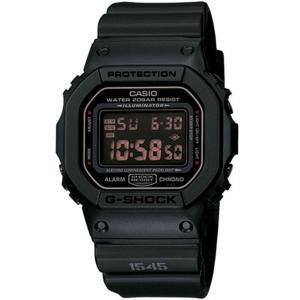 【G-SHOCK】マットブラック レッドアイ◆DW-5600MS-1DR/DW-5600MS-1JF|mmworld