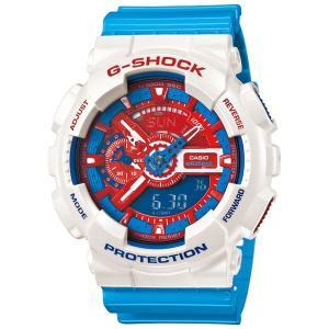 カシオ【G-SHOCK】ブルー&レッドシリーズ◆GA-110AC-7ADR/GA-110AC-7AJF|mmworld