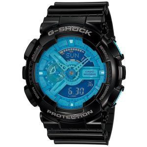 カシオ【G-SHOCK】ハイパーカラーズ黒◆GA-110B-1A2DR/GA-110B-1A2JF|mmworld