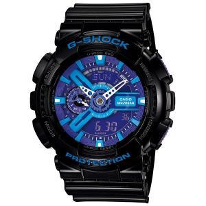 カシオ【G-SHOCK】ハイパーカラーズ黒◆GA-110HC-1ADR/GA-110HC-1AJF|mmworld