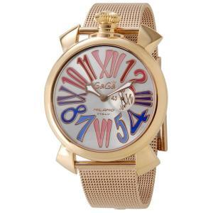 ガガミラノ GAGA MILANO SLIM クォーツ 腕時計 5081.1/5081-1/50811 mmworld