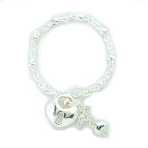 フォリフォリ  Keys Bracelet キーズ ブレスレット シルバー 3B1F018C|mmworld