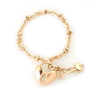 フォリフォリ  Keys Bracelet キーズ ブレスレット ピンクゴールド 3B1T018RC|mmworld