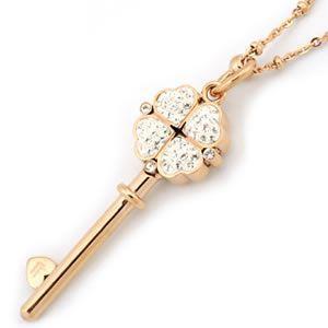 フォリフォリ  Keys Collection ネックレス ピンクゴールド 3N0T067RC|mmworld
