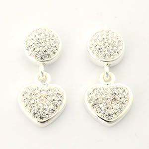 フォリフォリ  Bling Chic Earrings ピアス シルバー 3E0F021C|mmworld