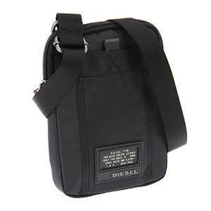 ディーゼル  斜め掛け ショルダーバッグ ブラック X01390-PR520 T8013|mmworld