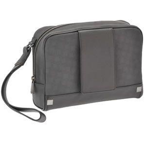 ダンヒル D-EIGHT GREY ディーエイトライン メンズ セカンドバッグ ハンドポーチ グレー L3F191Z|mmworld