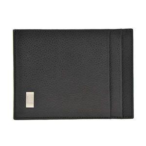ダンヒル AVORITIES LEATHER メンズ カードケース 名刺入れ ブラック OE-4015|mmworld