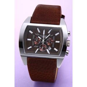 ディーゼル 腕時計 クロノグラフ ブラウン DZ4138|mmworld