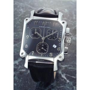ハミルトン 腕時計 LLOYD (ロイド クロノ)  メンズ クロノグラフ クォーツ レザーストラップ ウオッチ H19412733|mmworld