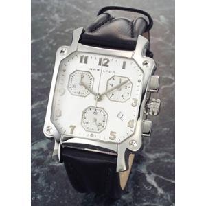 ハミルトン 腕時計 LLOYD (ロイド クロノ)  メンズ クロノグラフ クォーツ レザーストラップ ウオッチ H19412753|mmworld