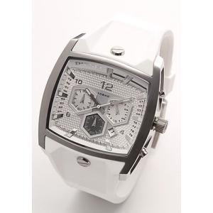 ディーゼル メンズ 腕時計 Analog(アナログ) クロノグラフ・ラバーストラップウオッチ DZ4163|mmworld
