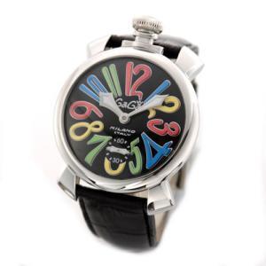 ガガミラノ MANUALE 48MM ステンレス(マヌアーレ) 独特の洗練されたデザインが魅力 注目人気ウオッチ 5010.2 mmworld