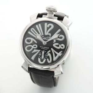 ガガミラノ MANUALE 48MM ステンレス(マヌアーレ) 独特の洗練されたデザインが魅力 注目人気ウオッチ 5010.4 mmworld