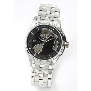 ハミルトン メンズ 腕時計 AMERICAN CLASSIC(アメリカンクラシック・コレクション) Jazzmaster Viewmatic Openheart  H32565135|mmworld