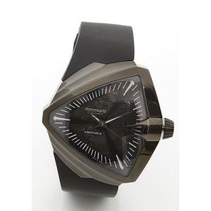 ハミルトン メンズ 腕時計 Ventura(ベンチュラ)エルビス アニバーサリー限定モデル ラバーストラップウオッチ H24615331|mmworld