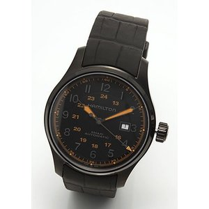 ハミルトン メンズ 腕時計 KHAKI(カーキ・コレクション)FIELD Khaki Field Auto 44mm (カーキ フィールド オート)  H70685337|mmworld
