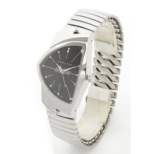 ハミルトン メンズ 腕時計 Ventura(ベンチュラ)エルビス アニバーサリー限定モデル 蛇腹式ストラップ・シルバー H24481131|mmworld