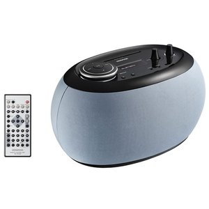 AP300H ケンウッド コンパクトHi-Fiシステム(ストーングレイ) AP-300-H 「奏でるオブジェ」のミニコンポ Bluetooth搭載|mnet