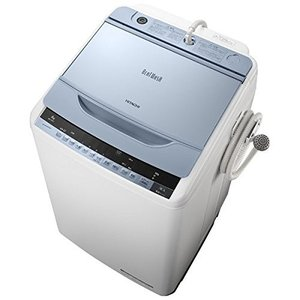 BW7WVA 日立 ビートウォッシュ 洗濯容量7kg 全自動洗濯機 ブルー BW-7WV-A|mnet