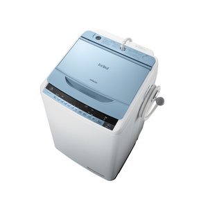 BW8WVA 日立 ビートウォッシュ 洗濯容量8kg 全自動洗濯機 ブルー BW-8WV-A|mnet