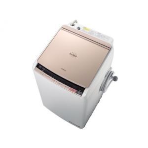 BWDV90BN 日立 タテ型洗濯乾燥機 ビートウォッシュ 9kg シャンパン BW-DV90B N 代引き不可 mnet