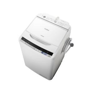 BWV80BW 日立 全自動洗濯機 ビートウォッシュ 8kg ホワイト 代引き不可 BW-V80B W mnet